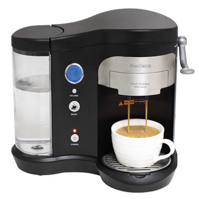 Suncana® Single Cup POD Brewer